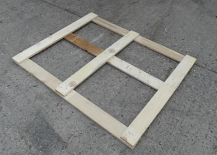 Wooden Pallet Top