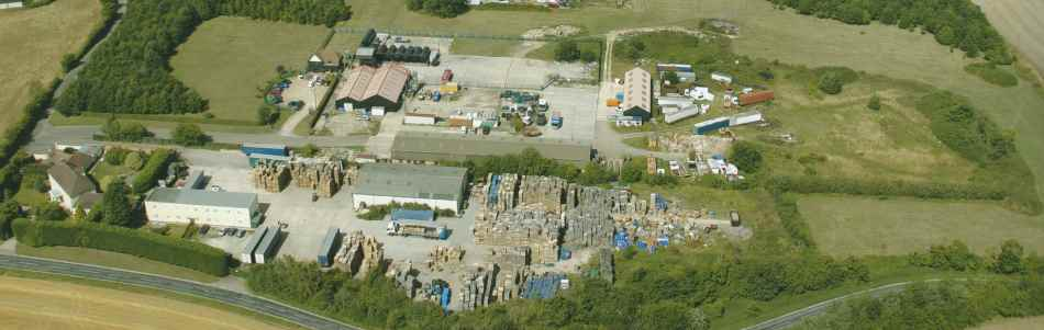 aerial photo of jbj pallets ltd